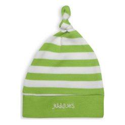 Juddlies Czapka Niemowlęca Greenery Stripe. Zielone czapeczki niemowlęce Juddlies. Za 22,53 zł.