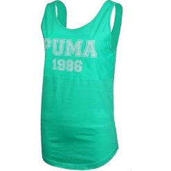 Puma Koszulka damska Style Per Best Athl Tank  zielona r. XS (836394 32). Zielone topy sportowe damskie marki Puma, xs. Za 68,55 zł.