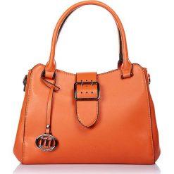 """Torebki klasyczne damskie: Torebka """"Simsbury"""" w kolorze pomarańczowym – 30 x 24 x 10 cm"""