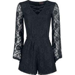 Odzież damska: Jawbreaker Lace Playsuit Kombinezon czarny