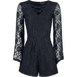 Kombinezony damskie: Jawbreaker Lace Playsuit Kombinezon czarny