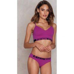 Bez Kategorii: Calvin Klein Bezszwowe bikini z logo - Pink