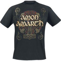 Amon Amarth Pure Viking T-Shirt czarny. Czarne t-shirty męskie z nadrukiem Amon Amarth, na lato, l, z okrągłym kołnierzem. Za 74,90 zł.