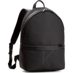 Plecak CALVIN KLEIN BLACK LABEL - Gregory Backpack K50K503285 001. Czarne plecaki damskie marki Calvin Klein Black Label, z materiału. W wyprzedaży za 429,00 zł.