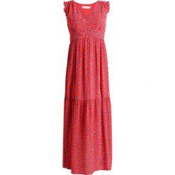 Długie sukienki: See u Soon VNECK RED PRINT MAXI DRESS Długa sukienka red