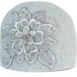 Czapka damska Haftowana zima szara. Czarne czapki zimowe damskie marki BIG STAR, z gumy. Za 66,01 zł.