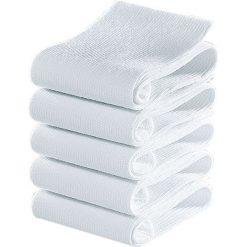 Skarpety GO IN (5 par) bonprix biały. Białe skarpetki męskie marki bonprix, w prążki. Za 27,45 zł.