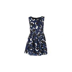 Sukienki krótkie Casual Attitude  GERINE. Niebieskie sukienki hiszpanki Casual Attitude, na co dzień, s, casualowe, z krótkim rękawem, mini. Za 159,20 zł.