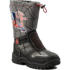 Buty zimowe chłopięce: Śniegowce SPIDERMAN ULTIMATE – CP40-XL5301SPRMV Czarny