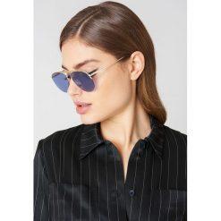 Okulary przeciwsłoneczne damskie: Le Specs Okulary przeciwsłoneczne Liberation – Gold