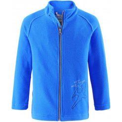 Lassie Dziecięca Bluza Polarowa Fleece Jacket Blue 110. Niebieskie bluzy chłopięce rozpinane marki Lassie, z polaru. Za 85,00 zł.
