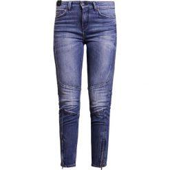 DRYKORN STRICT Jeansy Slim Fit blue. Niebieskie jeansy damskie relaxed fit DRYKORN. W wyprzedaży za 503,20 zł.