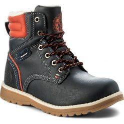 Buty zimowe chłopięce: Trapery ACTION BOY – CP40-FK-683000J Granatowy