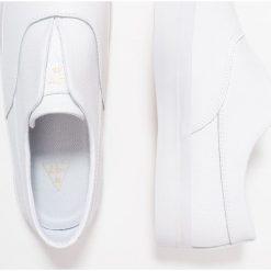 Creepersy damskie: HUF DYLAN  Półbuty wsuwane white
