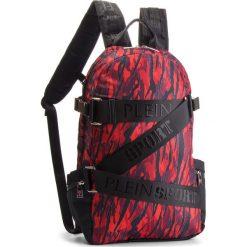Plecak PLEIN SPORT - Sky 04 MBA0445  Red. Czerwone plecaki męskie Plein Sport, z materiału, sportowe. Za 1699,00 zł.