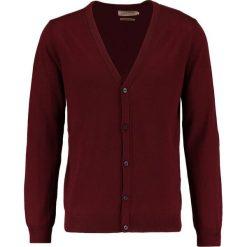 Swetry rozpinane męskie: Pier One Kardigan bordeaux