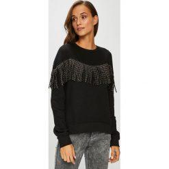 Only - Bluza. Szare bluzy damskie marki ONLY, s, z bawełny, casualowe, z okrągłym kołnierzem. Za 129,90 zł.
