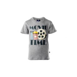 T-shirty chłopięce: Koszulka MOVIE JR LIGHT GREY 152