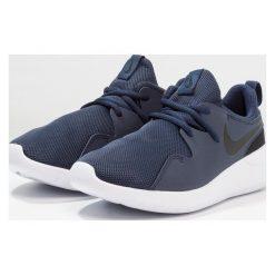 Nike Sportswear TESSEN Tenisówki i Trampki midnight navy/black/white. Niebieskie trampki chłopięce Nike Sportswear, z materiału. Za 249,00 zł.