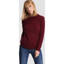 Bordowy Sweter Pillow Book. Czerwone swetry klasyczne damskie marki other, na jesień, l. Za 79,99 zł.