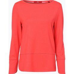 Bluzy damskie: s.Oliver Casual - Damska bluza nierozpinana, czerwony