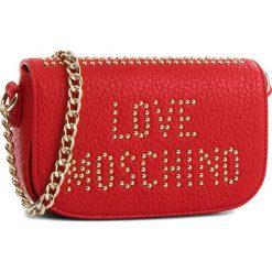 Torebka LOVE MOSCHINO - JC4066PP16LS0500  Rosso. Czerwone torebki klasyczne damskie marki Love Moschino, ze skóry ekologicznej. W wyprzedaży za 499,00 zł.