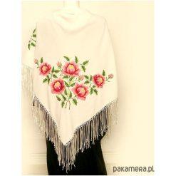 Apaszki damskie: różane OTULENIE (classic embroidery)