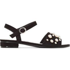 Rzymianki damskie: Sandały z ozdobami, szeroka pięta 38-45