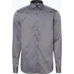 Eterna Slim Fit - Koszula męska niewymagająca prasowania, szary. Szare koszule męskie non-iron Eterna Slim Fit, m. Za 229,95 zł.