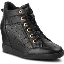 Sneakersy GEOX - D Carum C D84ASC 08554 C9999 Black. Czarne sneakersy damskie Geox, z materiału. Za 599,00 zł.