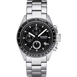Zegarek FOSSIL - Decker Mens CH2600IE  Silver/Steel. Szare zegarki męskie Fossil, ze stali. Za 569,00 zł.