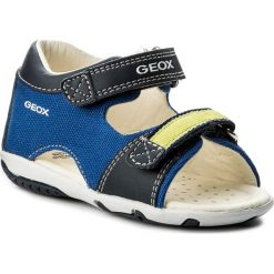Sandały męskie: Sandały GEOX - B S. Elba B.A B82L8A 01054 C4344 M Royal/Lime