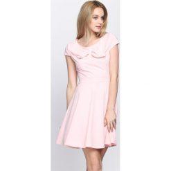 Różowa Sukienka Treat Me. Czerwone sukienki letnie Born2be, s, mini. Za 89,99 zł.