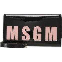 Kopertówki damskie: MSGM LOGO Kopertówka black/pink