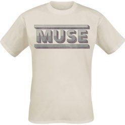 Muse Concrete T-Shirt piaskowy. Szare t-shirty męskie Muse, xxl. Za 74,90 zł.