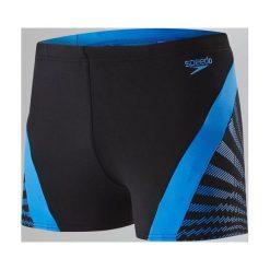 Kąpielówki męskie: Speedo Kąpielówki męskie Chevron Splice Aquashort Black/Blue r. 34 (8113487669)