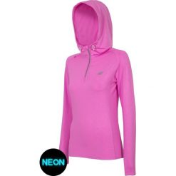 Bluzy sportowe damskie: Damska bluza sportowa 4F Pink Dry Control