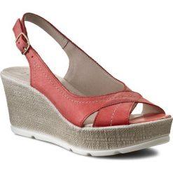 Sandały damskie: Sandały LASOCKI - 1921-01 Czerwony