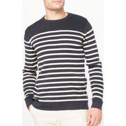 Kardigany męskie: Sweter marynarski z okrągłym dekoltem