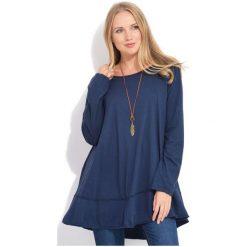 Fille Du Couturier Bluzka Damska Ginger 38 Ciemny Niebieski. Niebieskie bluzki asymetryczne Fille Du Couturier, z bawełny. W wyprzedaży za 229,00 zł.