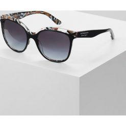 Okulary przeciwsłoneczne damskie aviatory: Burberry Okulary przeciwsłoneczne top black on