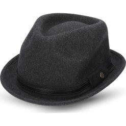 Kapelusz landos grafit. Czarne kapelusze męskie marki Recman. Za 139,00 zł.