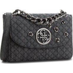 Torebka GUESS - HWDB66 23210  BDM. Czarne torebki klasyczne damskie Guess, z materiału, duże. Za 629,00 zł.