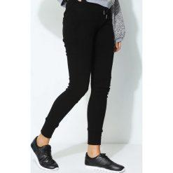 Spodnie damskie: Czarne Spodnie Perpend