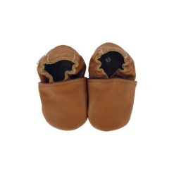 BaBice Buciki do raczkowania UNI nougat - brązowy. Brązowe buciki niemowlęce BABICE, ze skóry. Za 69,00 zł.