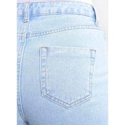 Dorothy Perkins FLORAL GEM EMBELLISHED Jeansy Slim Fit light wash. Niebieskie jeansy damskie marki Dorothy Perkins, z bawełny. Za 219,00 zł.