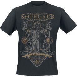 Nothgard Malady X T-Shirt czarny. Czarne t-shirty męskie Nothgard, m. Za 62,90 zł.