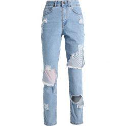 The Ragged Priest PROGRESS Jeansy Slim Fit light blue. Niebieskie jeansy damskie The Ragged Priest. W wyprzedaży za 179,50 zł.