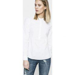 Vero Moda - Bluzka Juljane. Szare bluzki z odkrytymi ramionami Vero Moda, m, z bawełny, casualowe, ze stójką, z krótkim rękawem. W wyprzedaży za 69,90 zł.