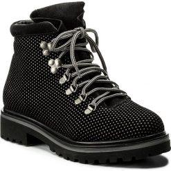 Trapery LASOCKI - G342 Czarny. Niebieskie buty zimowe damskie marki Lasocki, ze skóry. W wyprzedaży za 125,00 zł.
